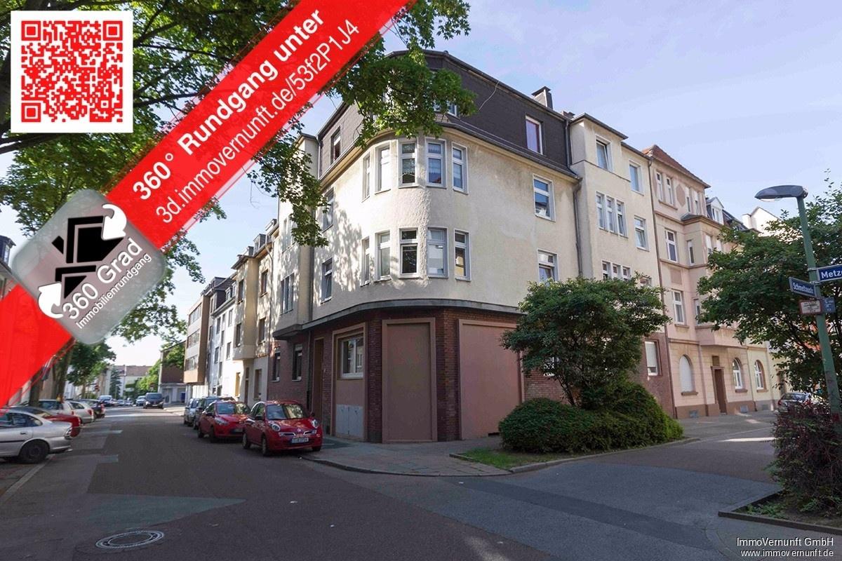 91 m² große 3,5 Zimmer Erdgeschosswohnung in Essen Huttrop 45139 Essen (Stadtbezirke I), Erdgeschosswohnung